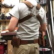 AoU Harness worn Rear View