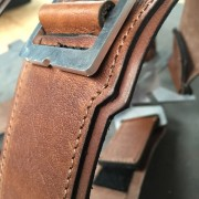 Winter Soldier Harness Leather Detail