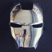 Iron Man Mask - Polished